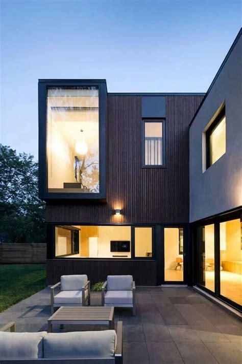 harmonious minimalist modern house design modern bay window architecture windows