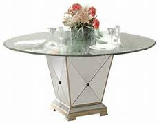 Glass Dining Table 60 Inch by Bassett Mirror Borghese 60 Inch Round Pedetal Glass Top Dining Table Contem
