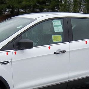 ford escape chrome window sill trim