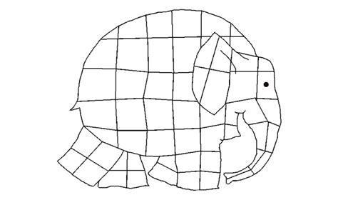 Elmer The Elephant Template by Class Activities Ms Hess S Website