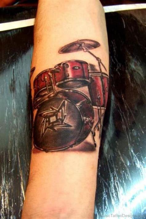 nice  drum tattoos
