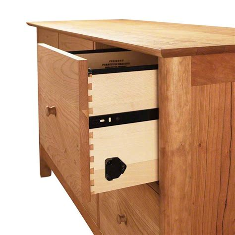 6 Drawer File Cabinet by Modern Shaker 6 Drawer Lateral File Cabinet Vermont