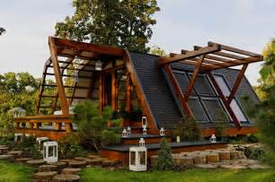 beautiful tiny house on a foundation the soleta zeroenergy one small house bliss