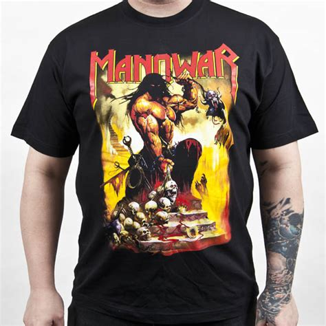 manowar quot agony and ecstasy quot t shirt metal blade records