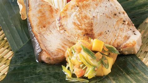cuisine et saveur espadon à saveur exotique recettes cuisine et