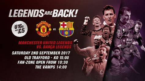 VIDEO Barcelona Legends 1 - 3 Manchester United Legends Highlights - FootyRoom