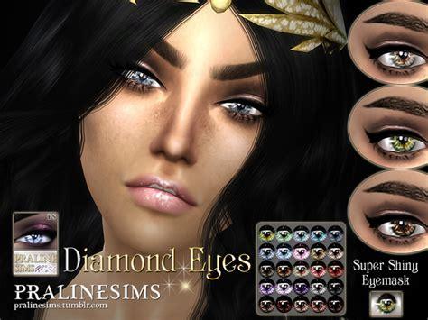 diamond eyes  pralinesims  tsr sims  updates