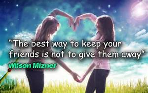 Best Friends With Quotes - WallDevil