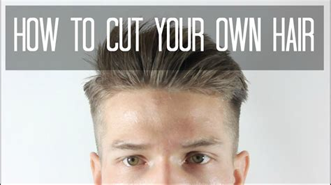 How To Cut Your Own Hair Taper Cut Men's Hairstyles