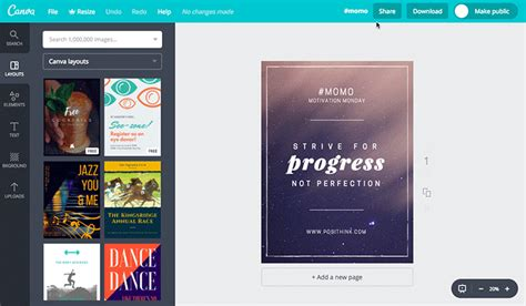 Share Designs To Your Canva Profile