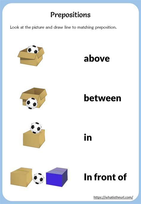 prepositions match  pictures  home teacher