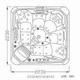 Tub Drawing Jacuzzi Diagram Plumbing Getdrawings Spa Whirlpool Tubs Seats Wiring sketch template