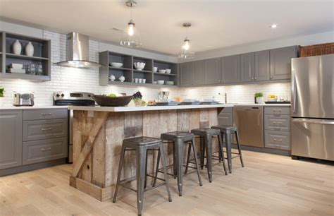 favorite ideas  reclaimed barn wood kitchen islands