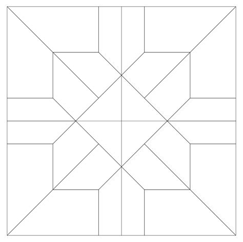template pattern imaginesque quilt block pattern 24