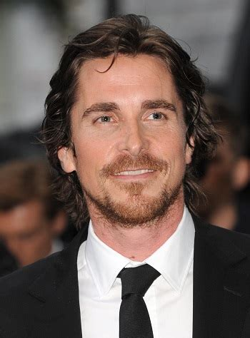 hair  beard styles christian bale medium layered
