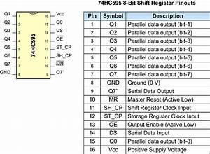 Shift Register  Use For Controlling Multiple Leds