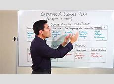 Project Management Creating a Communications Plan YouTube