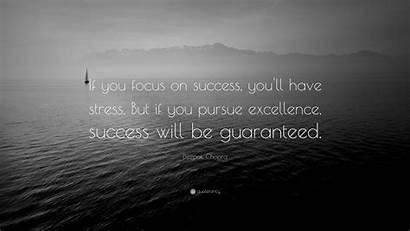 Success Quotes Wallpapers Focus Stress Deepak Chopra
