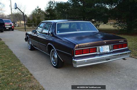 chevrolet caprice classic sedan  door