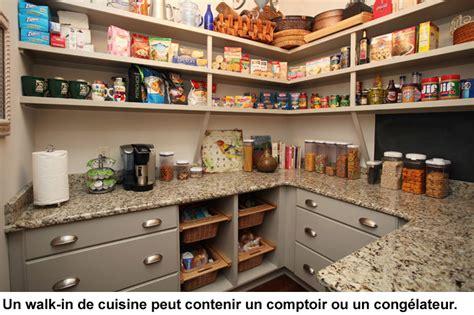 cuisine chaude walk in et rangement efficaces pour la cuisine