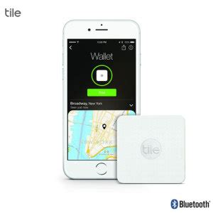 tile slim bluetooth tracker device white