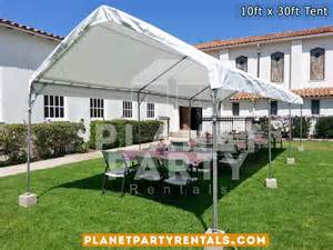 Church Flower Decorations Wedding by 10ft X 30ft Tent Rental
