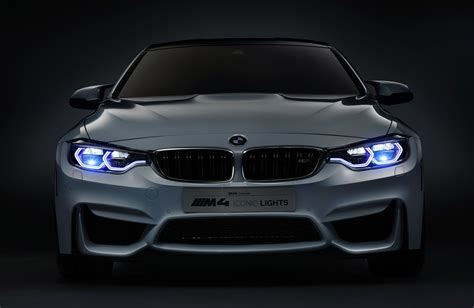 bmw m4 with laser headlights organic led and autonomous