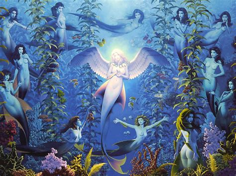 Beautiful Mermaids Animated Wallpaper - anime mermaid wallpaper wallpapersafari