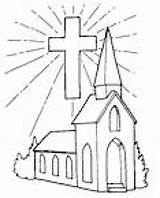 Church Coloring Pages Drawing Medieval Building Going Norway Colour Colouring Families Getdrawings Getcolorings Chapel Clipart sketch template