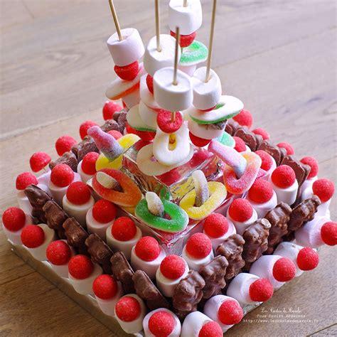 gateau bonbons  faire en  gateau bonbon gateau