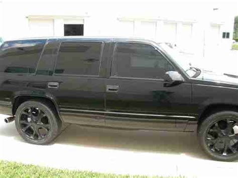 purchase   chevy tahoe custom exterior leather