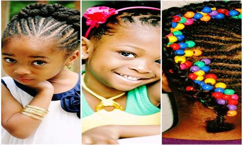 Beautiful Cute Braided Hairstyles For Black Little Girls