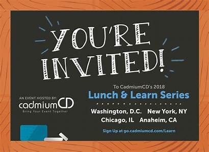 Lunch Learn Cadmiumcd Bring Invited Re Series