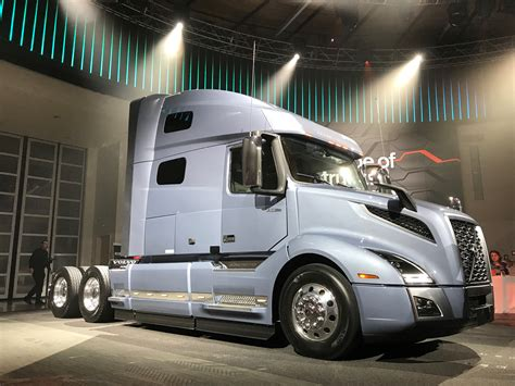 volvo trucks volvo takes wraps off new vnl truck news