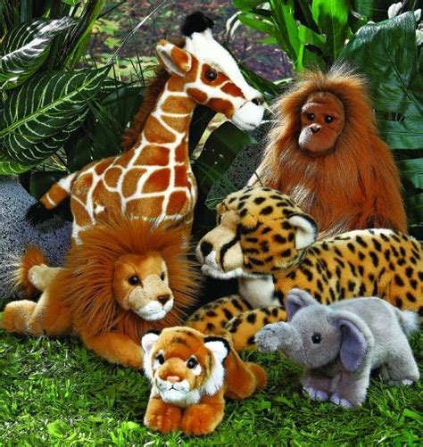 toy jungle stuffed animals  toy insider