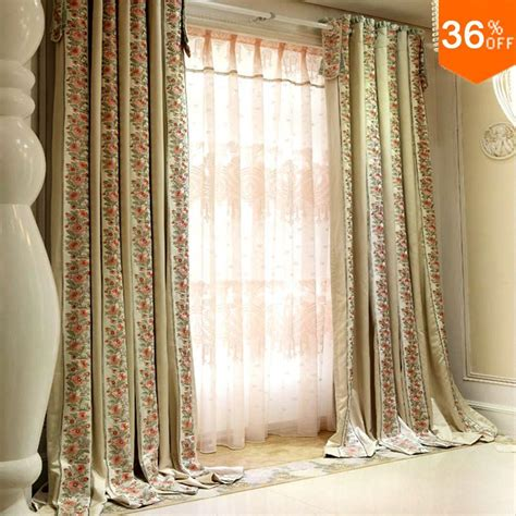 aliexpress buy 2016 flowering shrubs curtains for