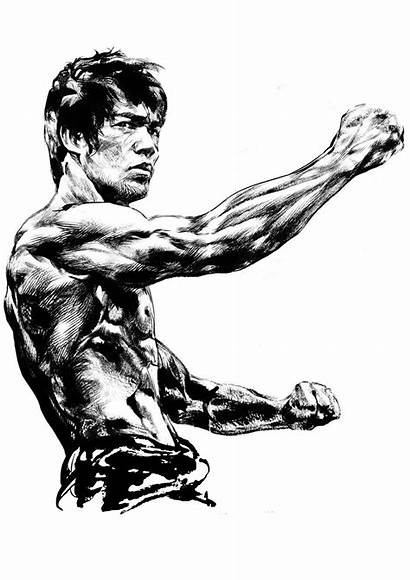 Bruce Lee Laser Engraving Cut 3axis Cdr