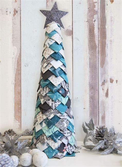 fabric christmas decorations ideas  pinterest