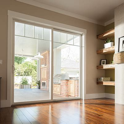 gliding patio doors clevernest