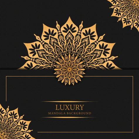 luxury mandala background  golden arabesque pattern