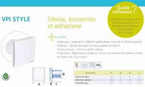 Extracteur D Air Permanent : atlantic vpi style 100t extracteur d 39 air permanent 123133 ~ Dailycaller-alerts.com Idées de Décoration