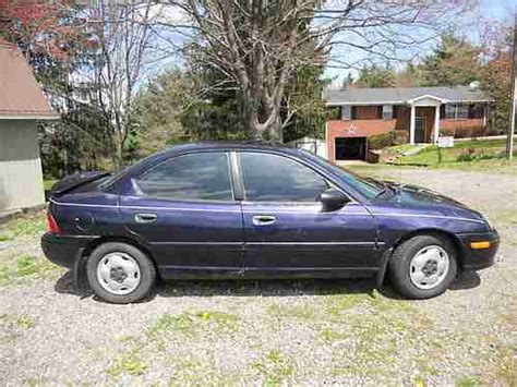 how petrol cars work 1998 dodge neon windshield wipe control sell used 1998 dodge neon high line sedan 4 door 2 0l in new cumberland west virginia united