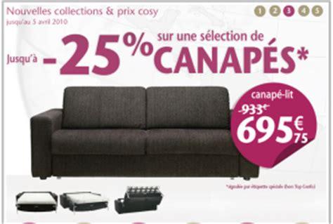 promo canap conforama promotion canapé conforama 25 shop