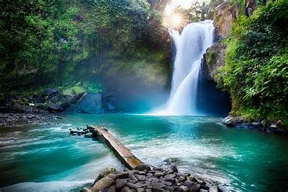 Waterfall Nature Jungle Tropical Hidden Cool Wallpapers