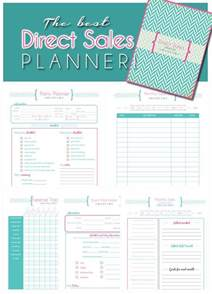 direct sales planner home business planner blank