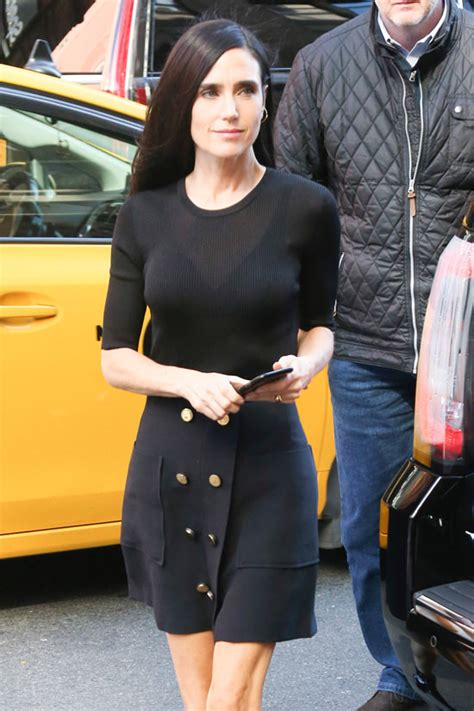 jennifer connelly street style jennifer connelly did right with louis vuitton at build