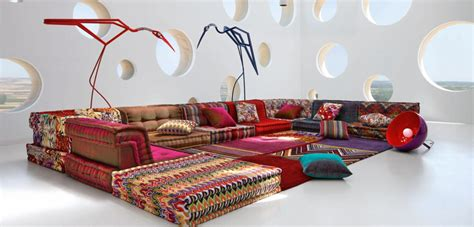 composition missoni home mah jong roche bobois