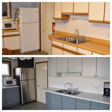 painting melamine kitchen cabinets before and after painted laminate cupboards my makeovers in 2018 9706