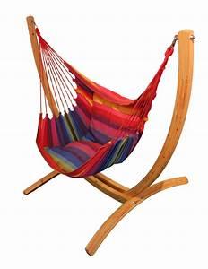Support Chaise Hamac : chaise hamac pour profiter des beaux jours dans votre jardin ~ Melissatoandfro.com Idées de Décoration
