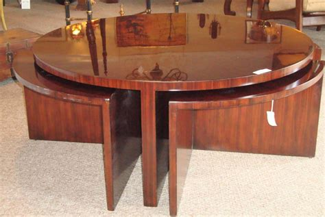 Ralph Lauren Fivepiece Pullout Cocktail Or Coffee Table